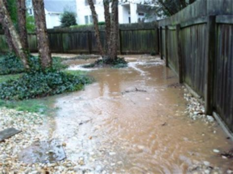 Drainage Problems Common Drainage Problems