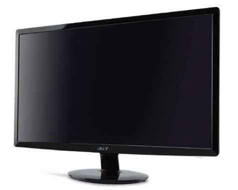Lcd Monitor 23 Inci Acer B233b 23 inch acer tft cheap pc monitor home office computer cctv grade a ebay