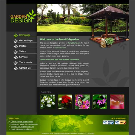 template 094 garden