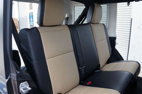 2013 Jeep Wrangler Seat Covers Jeep Wrangler 2013 2016 Iggee S Leather Custom Seat Cover