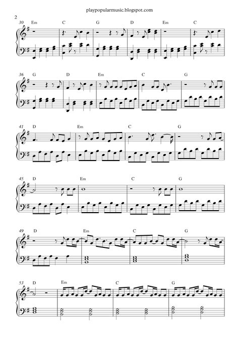 alan walker faded piano free piano sheet music alan walker faded pdf you were