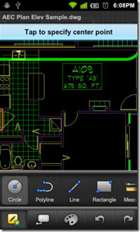 autocad ws  android lets  view edit share