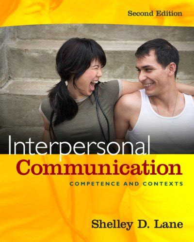 interpersonal messages communication and relationship 2nd edition ebook interpersonal communication by shelley d lane reviews