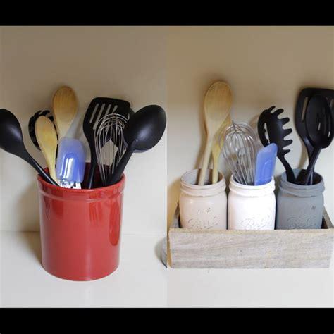 Kitchen Utensil Holder Ideas Best 25 Utensil Holder Ideas On Kitchen Utensil Holder Kitchen Utensil Storage And
