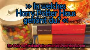 hogwarts haus test special harry potter haus quiz motion picture maniacs