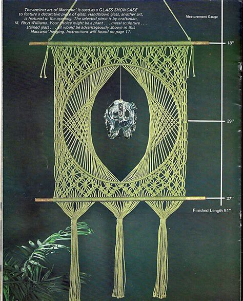 Free Macrame Patterns And - delightful macrame pattern book hh 37 by grammysyarngarden