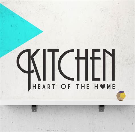 wall sticker kitchen kitchen wall sticker of the home by oakdene