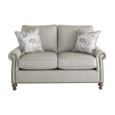 bassett loveseat bassett 2620 42 carlisle loveseat discount furniture at