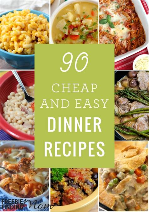 cheap quick easy dinner recipes