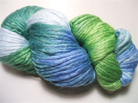 multi color yarn araucania coliumo multi color 15 wool silk 100 gram yarn