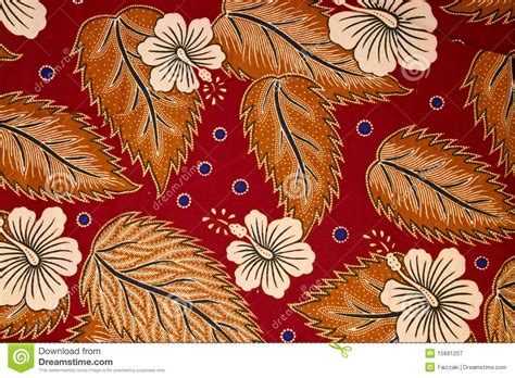 indonesian traditional pattern vector pattern on traditional batik sarong royalty free stock