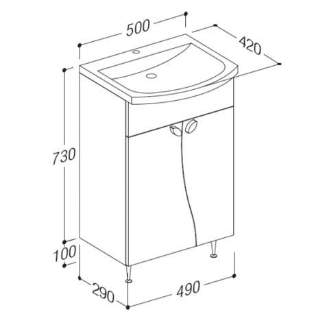 Meuble Largeur 50 Cm by Meuble Vasque Largeur 50 Cm
