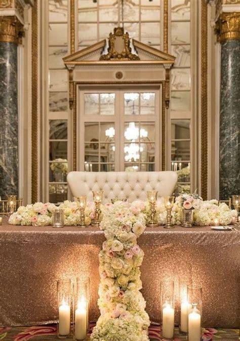 wedding inspiration loveseat sweetheart tables