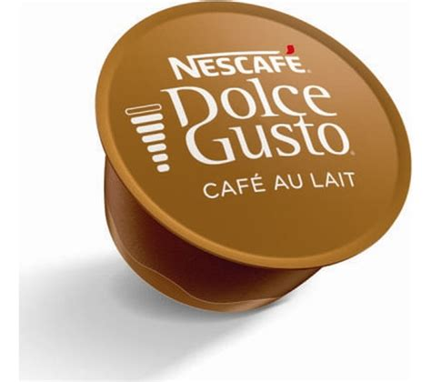 Nescafe Dolce Gusto Cafe Au Lait 16 Capsule Coffee Kapsul Kopi buy nescafe dolce gusto caf 233 au lait pack of 16 free