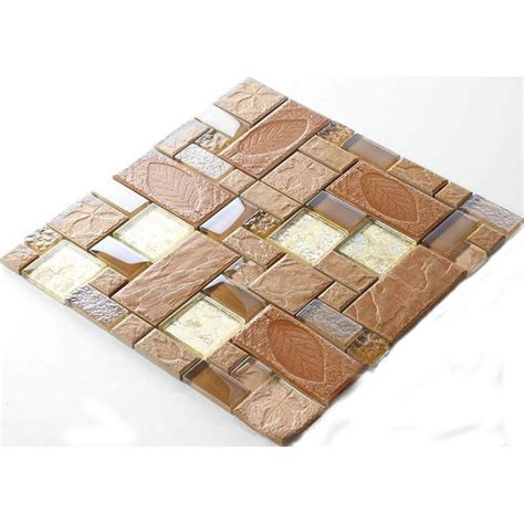 porcelain mosaic decorative tile glass backsplash kitchen