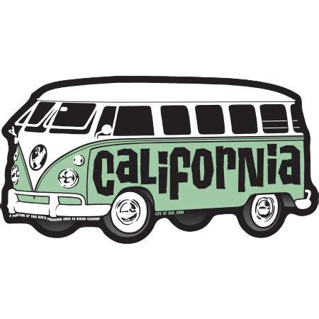 Vw California Aufkleber by Decal Vw Bus California Sticker By Tim Ward