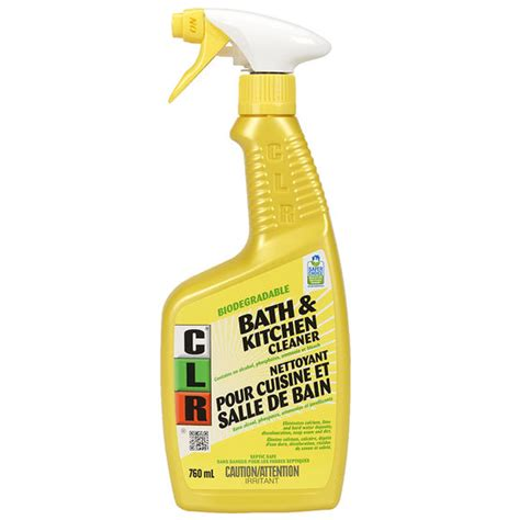 clr bathtub clr bathroom kitchen cleaner 760ml london drugs
