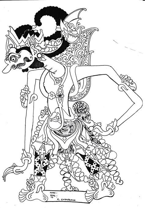 The Shadow Puppet Mantia Biru belajar menyungging wayang classical javanese gamelan