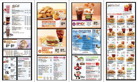 mcdonalds hsr layout breakfast menu mcdonald s usa adding calorie counts to menu boards