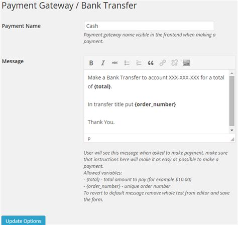 international bank transfer how payment gateway bank transfer wpadverts