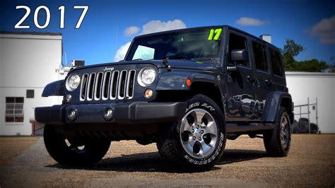 jeep sahara 2017 black 2017 jeep wrangler unlimited sahara ultimate in depth