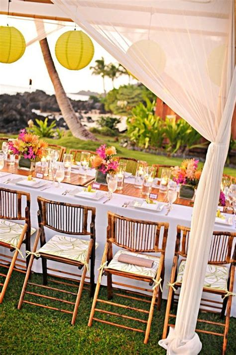 17 best ideas about luau wedding receptions on luau wedding hawaiian wedding themes