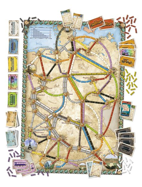 ticket to ride germany build your empire across 19th