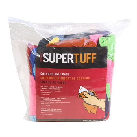 home depot paint rags trimaco 8 lb bale colored knit painter s rags 10859 the