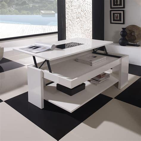 table de salon table basse de salon rehaussable ezooq