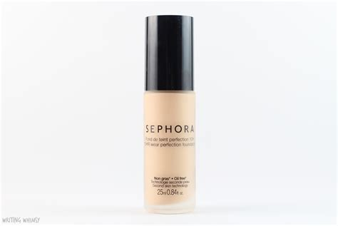 sephora collection 10 hr wear perfection foundation in