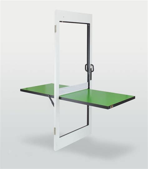 Ping Pong Table Door Not Only A Door It Doubles As A