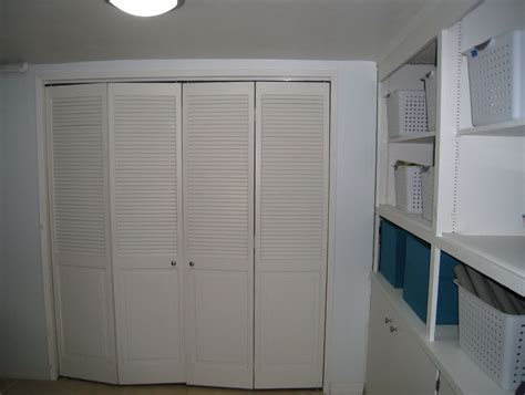 Diy Bi Fold Closet Doors Bi Fold Louvered Closet Doors Home Design Ideas