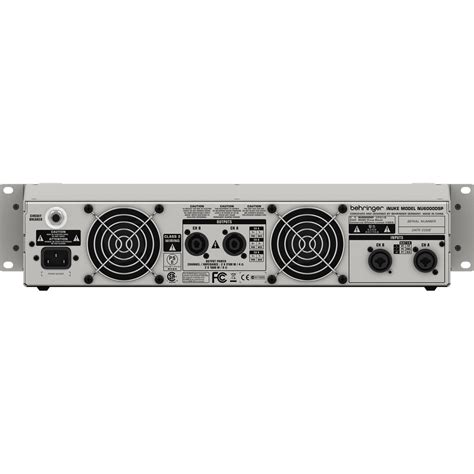 Power Lifier Behringer Inuke behringer inuke nu3000 power op gear4music