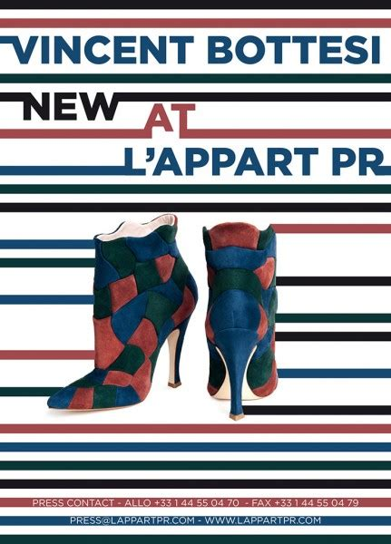 vincent bottesi new at l appart pr article chaussure de
