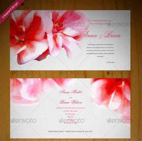 template desain undangan pernikahan photoshop desain undangan pernikahan terbaik template photoshop