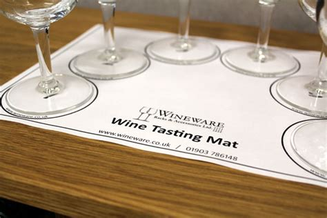 Wine Tasting Mat by The Wine Tasting Accessory Wineware S Wine
