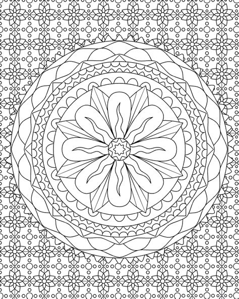 Free Printable Abstract Coloring Pages For Kids Abstract Coloring Pages