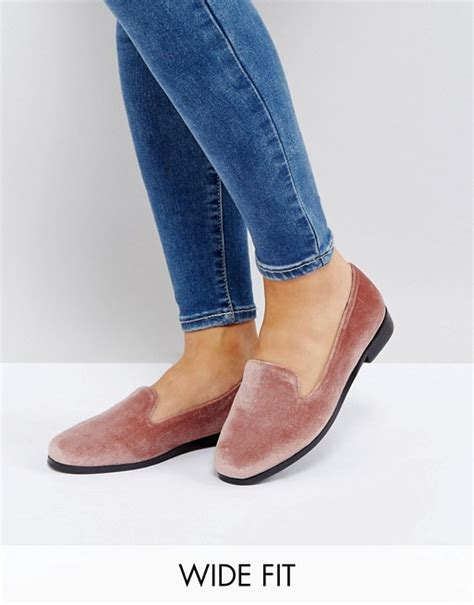 wide fit flat shoes asos asos malbec wide fit flat shoes