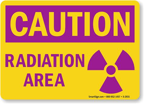 Printable Caution Radiation Area Sign | free radiation signs download free pdf s and print yourself