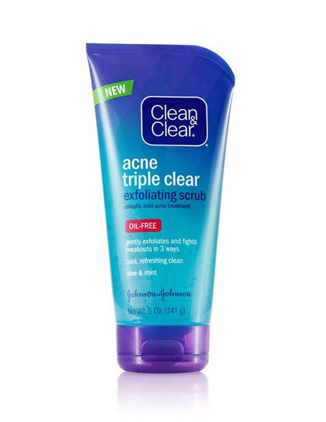 acne clear exfoliating scrub clean clear 174
