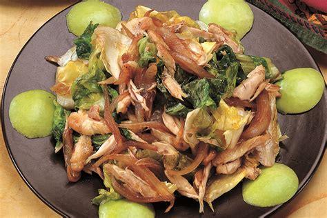 cucinare alette di pollo ricetta insalata tiepida con alette di pollo la cucina