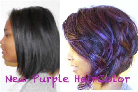 how to dye hair how to color your hair purple and keep it healthy