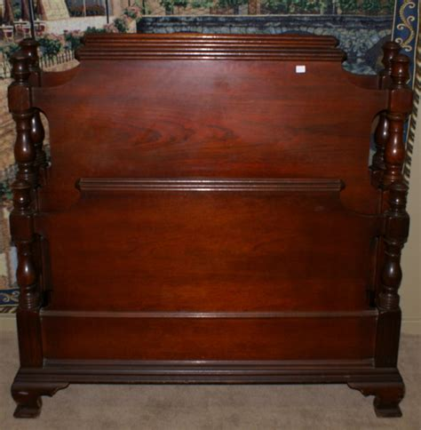 antique twin beds for sale pair of mahogany twin beds for sale antiques com