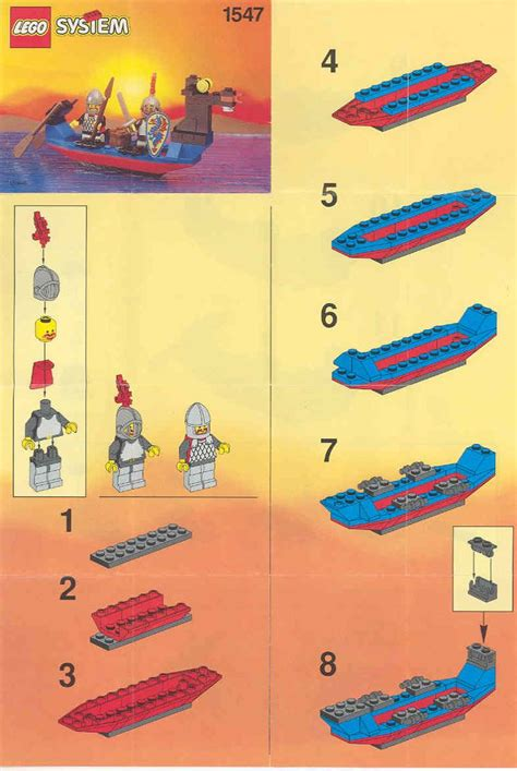 lego boat step by step 15 best images about lego instructions directions on