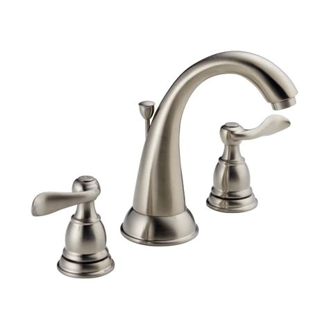 delta bathroom faucets replacement parts faucet com 35996lf bn in brushed nickel by delta