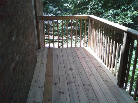 cantilevered deck cantilever deck huntsville home repairs fences decks