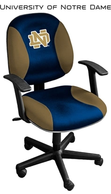 Notre Dame Office Chair by Notre Dame Fighting Student Computer Chair Tc05 Nd
