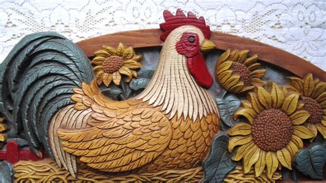 Rooster Decorations by Mellow Monday The Country Rooster Couleurnature