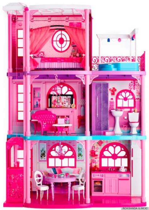 barbie doll dream house 2013 barbie s dreamhouse would be hella expensive if it were real photos huffpost