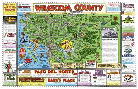 whatcom county zoning map map of whatcom county my